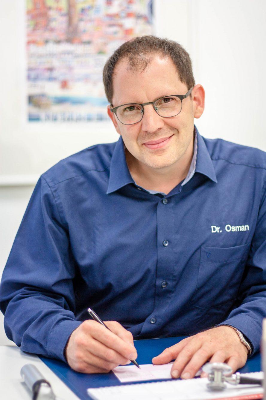 Haiusarzt Dr. Osman Gemen